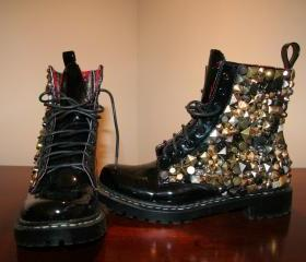 Rocker Combat Boots